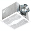 Air King 0.3-Sone 130-CFM White Bathroom Fan ENERGY STAR