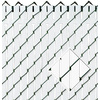 Pexco White Chain-Link Fence Privacy Screen