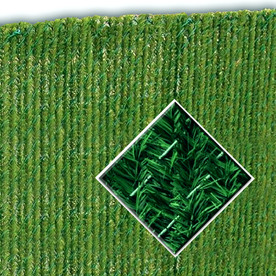Shop Pexco 48 In Green Chain Link Fence Hedge At Lowes Com