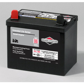 Briggs & Stratton 12-Volt 365-Amp Lawn Mower Battery