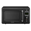 Daewoo 0.7-cu ft 700-Watt Countertop Microwave (Piano Black)
