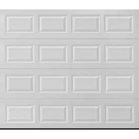 ReliaBilt Traditional Series 96-in x 84-in Insulated White Garage Door