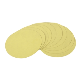 GOLDBLATT 10-Pack 150-Grit 9-in W x 9-in L Round Hook and Loop Sandpaper