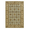 DYNAMIC RUGS Charisma 48-in x 6-ft Rectangular Blue Floral Area Rug