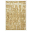 DYNAMIC RUGS Mysterio 24-in x 47-in Rectangular Beige Accent Rug