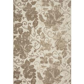 DYNAMIC RUGS Mysterio 6-ft 7-in x 9-ft 6-in Rectangular Brown Floral Area Rug
