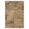 DYNAMIC RUGS Mysterio 6-ft 7-in x 9-ft 6-in Rectangular Brown Solid Area Rug