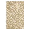 DYNAMIC RUGS Nolita 48-in x 6-ft Rectangular Beige Transitional Area Rug