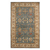 DYNAMIC RUGS Charisma 9-ft 6-in x 13-ft 6-in Rectangular Blue Floral Area Rug