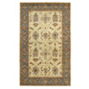 DYNAMIC RUGS Charisma 60-in x 8-ft Rectangular Beige Floral Area Rug