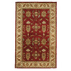DYNAMIC RUGS Charisma 8-ft x 11-ft Rectangular Red Floral Area Rug