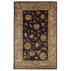 DYNAMIC RUGS Charisma 8-ft x 11-ft Rectangular Purple Floral Area Rug