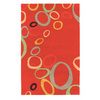 DYNAMIC RUGS Nolita 60-in x 8-ft Rectangular Red Geometric Area Rug