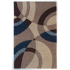 DYNAMIC RUGS Nolita 60-in x 8-ft Rectangular Beige Geometric Area Rug