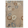 DYNAMIC RUGS Nolita 8-ft x 11-ft Rectangular Beige Geometric Area Rug