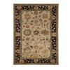 DYNAMIC RUGS Charisma 48-in x 6-ft Rectangular Beige Floral Area Rug