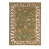 DYNAMIC RUGS Charisma 48-in x 6-ft Rectangular Green Floral Area Rug