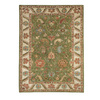 DYNAMIC RUGS Charisma 6-ft 7-in x 9-ft 6-in Rectangular Green Floral Area Rug