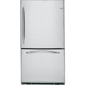 GE - Bottom Freezer Refrigerators - Refrigerators - The