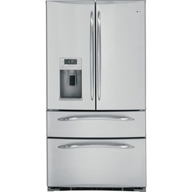GE Profile 24.8 cu ft French Door Refrigerator (Stainless Steel)