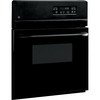 GE Single Electric Wall Oven (Black) (Common: 24-in; Actual 23.75-in)
