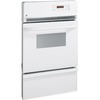 GE 24-in Self-Cleaning Single Gas Wall Oven (White)