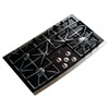 GE Profile 36-in 5-Burner Gas Cooktop (Stainless)