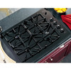 GE Profile 4-Burner Gas Cooktop (Black) (Common: 30-in; Actual: 29.75-in)