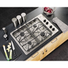 GE Profile 4-Burner Gas Cooktop (Common: 30-in; Actual: 30-in)