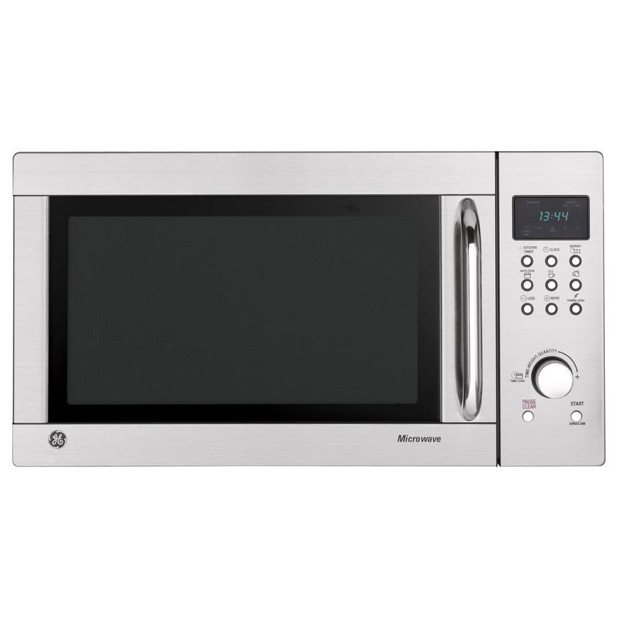 Ge Countertop Microwave Stainless Steel : Shop GE 1.3-cu ft 1000-Watt Countertop Microwave (Stainless Steel) at ...
