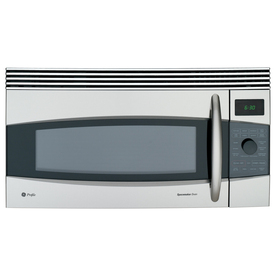 GE Profile 30-Inch, 1.7 Cu. Ft. Capacity Over-the-Range Microwave Oven (Color: Stainless)