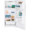 GE 15.7 cu ft Top-Freezer Refrigerator (White)