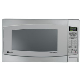 GE Profile Series 2.2-cu ft 1200-Watt Countertop Microwave (Stainless Steel)