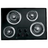 GE Electric Cooktop (Black) (Common: 30-in; Actual 30.25-in)