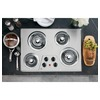 GE Electric Cooktop (Stainless Steel) (Common: 30-in; Actual 30.25-in)