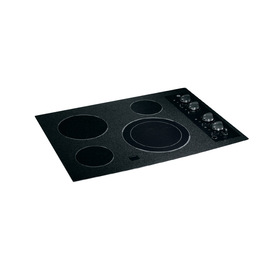 GE Smooth Surface Electric Cooktop (Black) (Common: 30-in; Actual 29.75-in)