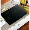 GE Profile Smooth Surface Electric Cooktop (Black) (Common: 30-in; Actual 29.75-in)