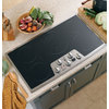 GE Profile 36-in Smooth Surface Electric Cooktop