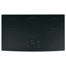 GE Profile 5-Element Smooth Surface Electric Cooktop (Black) (Common: 36-in; Actual 36-in)