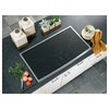 GE Profile 5-Element Smooth Surface Electric Cooktop (Stainless Steel) (Common: 36-in; Actual 36.125-in)