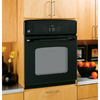 GE Single Electric Wall Oven (Black on Black) (Common: 27-in; Actual 26.625-in)