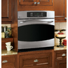GE Profile Self-Cleaning Convection Single Electric Wall Oven (Stainless Steel) (Common: 30-in; Actual 29.75-in)