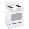 GE 30-in Freestanding 5 cu ft Self-Cleaning Electric Range (White)