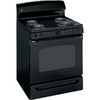 GE 30-in Freestanding 5 cu ft Self-Cleaning Electric Range (Black)