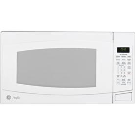 GE Profile 2-cu ft 1500-Watt Countertop Microwave (White)