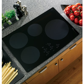 GE Profile Smooth Surface Induction Electric Cooktop (Black) (Common: 30-in; Actual 29.75-in)