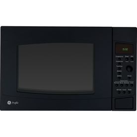 GE Profile 1.5 cu ft 1000-Watt Countertop Convection Microwave (Black)
