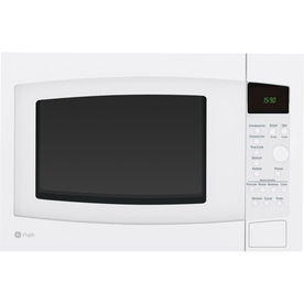 GE Profile 1.5 cu ft 1000-Watt Countertop Convection Microwave (White)