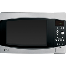 GE Profile 1.5 cu ft 1000-Watt Countertop Convection Microwave (Stainless)