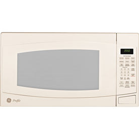 GE Profile 2 cu ft 1500-Watt Countertop Microwave (Bisque)